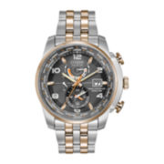 Citizen® Eco-Drive™ World Time A-T Mens Two-Tone 20ATM Watch  AT9016-56H