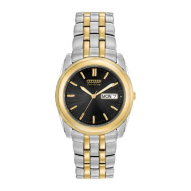 jcpenney.com | Citizen® Eco-Drive® Mens Two-Tone Stainless Steel Watch BM8224-51E