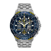 Citizen® Eco-Drive® Mens Blue Angels Skyhawk Chronograph Watch JY0050-55L