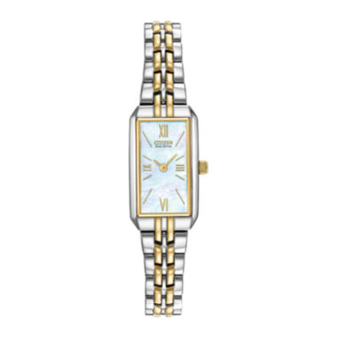 jcpenney.com | Citizen® Eco-Drive® Womens Two-Tone Stainless Steel Bracelet Watch EG2694-59D