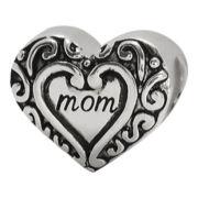 Forever Moments™ Mom Heart Charm Bracelet Bead