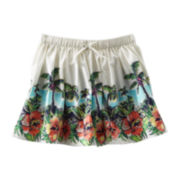 OshKosh B'gosh® Tropical Print Woven Skirt - Girls 2t-4t
