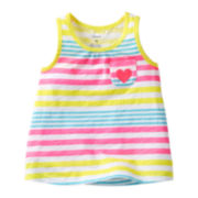 Carter's® Striped Flared Tank Top - Girls 6m-24m