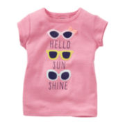 Carter's® Infant Girl Short Sleeve Tee - 6m-24m