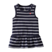 Carter's® Striped Tunic Tank Top - Girls 6m-24m