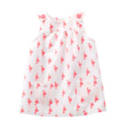 Carter's® Flamingo Sleeveless Top - Girls 6m-24m
