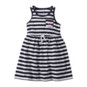 Carter's® Striped Anchor Dress - Girls 2t-4t