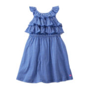 Carter's® Ruffled Geometric Print Dress - Girls 2t-4t