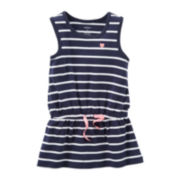 Carter's® Striped Tunic Tank Top - Girls 5-6x