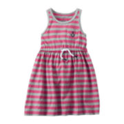 Carter's® Striped Anchor Dress - Girls 5-6x