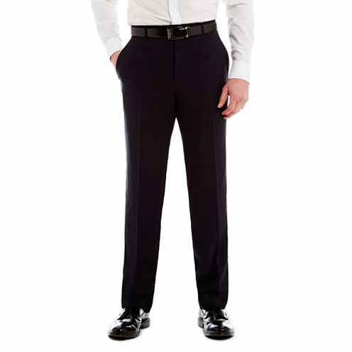 Stafford® Executive Super 130 Navy Pinstripe Suit Pants - Classic