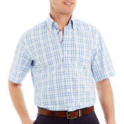TailorByrd Short-Sleeve Button-Front Shirt