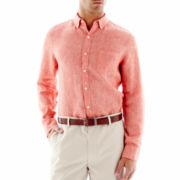 Claiborne® Linen Shirt