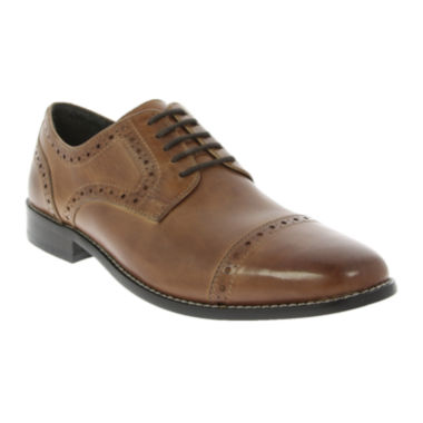 jcpenney.com | Nunn Bush® Norcross Mens Cap-Toe Oxfords