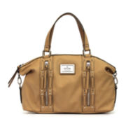 nicole by Nicole Miller® Rennie Leather Satchel