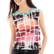 Decree® Graphic Muscle Tank Top