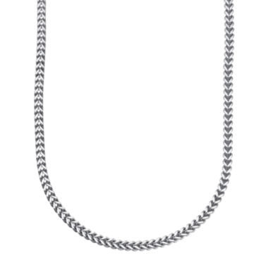 jcpenney.com | Mens Stainless Steel Franco Link Chain Necklace