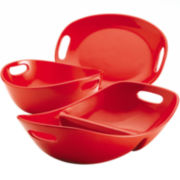 Rachael Ray® 3-pc. Serving Bowls and Platter Set