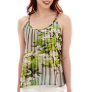 a.n.a® Woven Swing Cami Tank Top - Tall