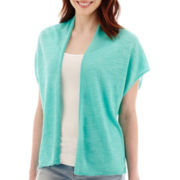 a.n.a® Short-Sleeve Lightweight Open Cardigan