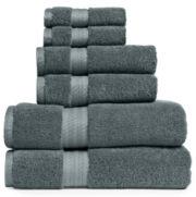 Royal Velvet® Egyptian Cotton 6-pc. Bath Towel Set