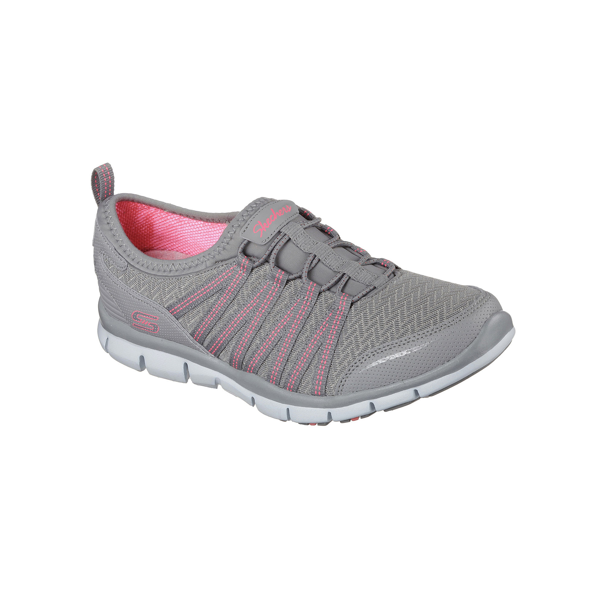 Skechers Enticing Bungee Slip-On Womens Sneakers plus size,  plus size fashion plus size appare