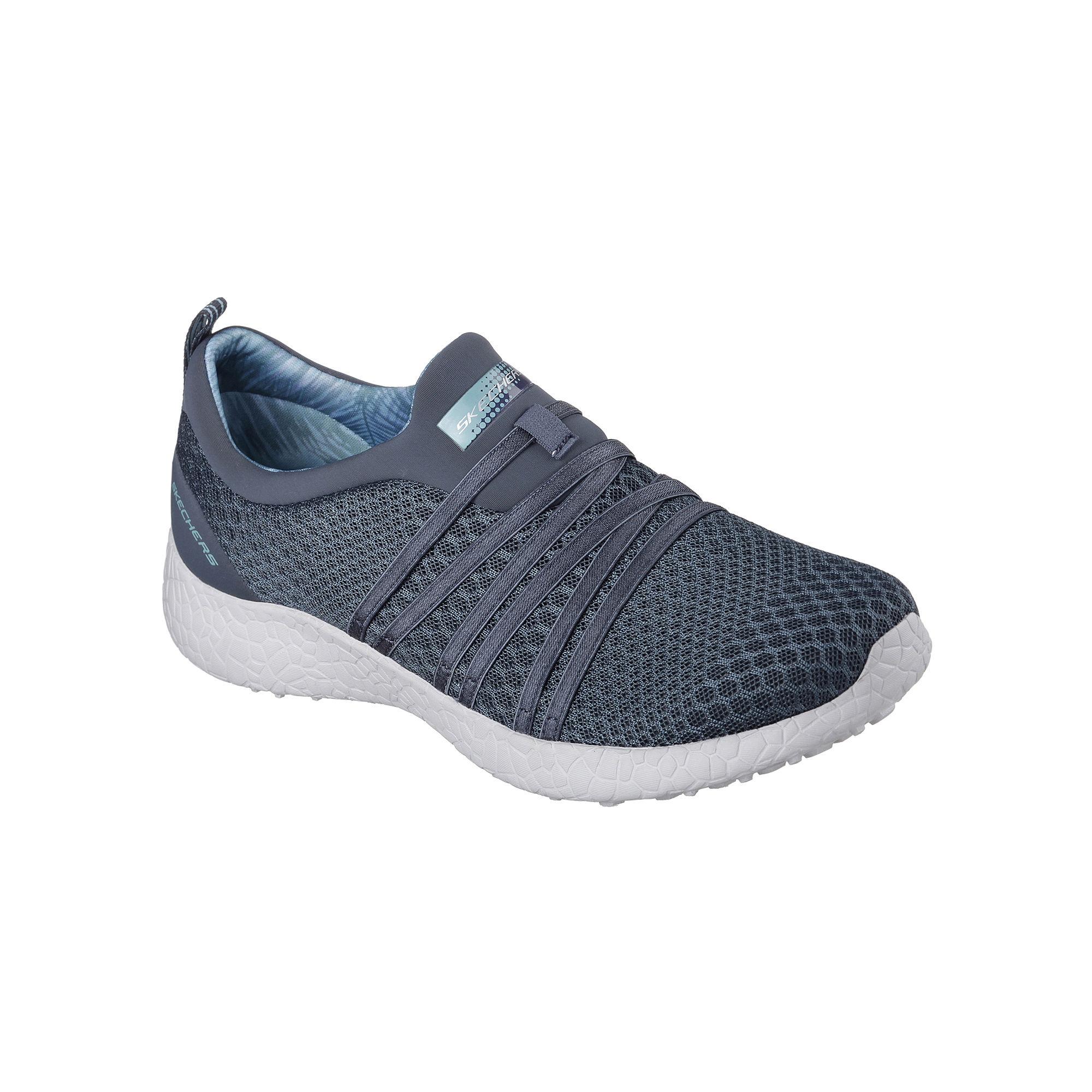 Skechers Burst Slip-On Womens Sneakers plus size,  plus size fashion plus size appare