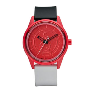 jcpenney.com | Smile Solar Red Black and White Strap Sports Watch