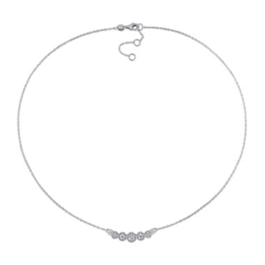 jcpenney.com | 1/4 CT. T.W. Diamond Sterling Silver Necklace