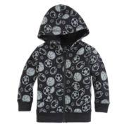 Okie Dokie® Full-Zip Fleece Hoodie - Baby Boys newborn-24m
