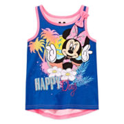 Disney Apparel by Okie Dokie® Minnie Mouse Tank Top - Toddler Girls 2t-5t