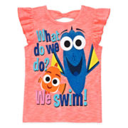 Disney Apparel by Okie Dokie® Finding Dory Bow-Back Tank Top - Toddler Girls 2t-5t