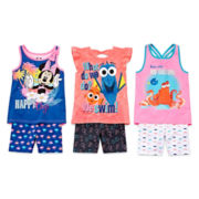 Disney Apparel by Okie Dokie® Tank Top or Bike Shorts - Preschool Girls 4-6x