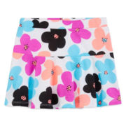 Okie Dokie® Printed Knit Skort - Toddler Girls 2t-5t