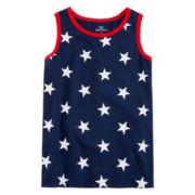 Okie Dokie® American Print Tank Top - Preschool Boys 4-7