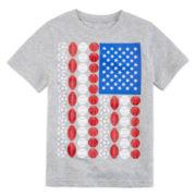 Okie Dokie® Short-Sleeve American Print Tee - Preschool Boys 4-7