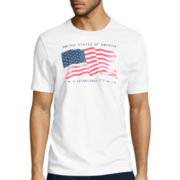 St. John's Bay® Short-Sleeve Americana Tee