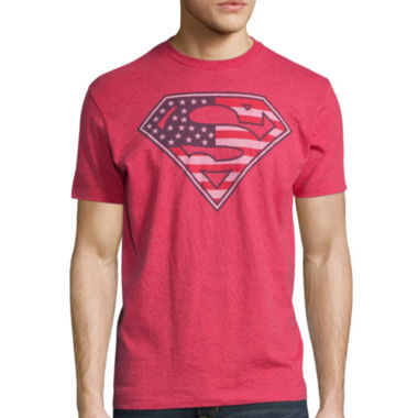 jcpenney.com | Superman America Short-Sleeve Cotton Tee