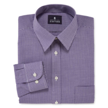 jcpenney.com | Stafford® Long-Sleeve Travel Performance Broadcloth Dress Shirt - Big & Tall