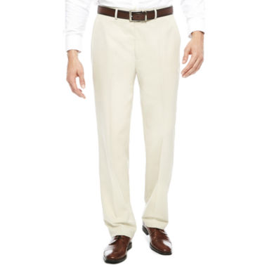jcpenney.com | Stafford® Flat Front Dress Pants - Classic
