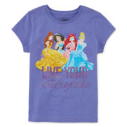 Disney Short-Sleeve Princess Graphic Tee - Girls