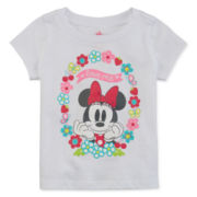 Disney® Short-Sleeve Minnie Tee - Baby Girls newborn-24m