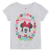 Disney® Short-Sleeve Minnie Tee - Baby Girls newborn-24m