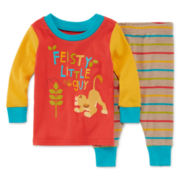 Disney® 2-pc. Simba Cotton Pajama Set - Baby Boys newborn-24m