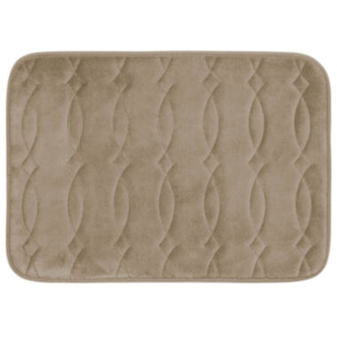 jcpenney.com | Bounce Comfort Grecian Memory Foam Bath Mat Collection