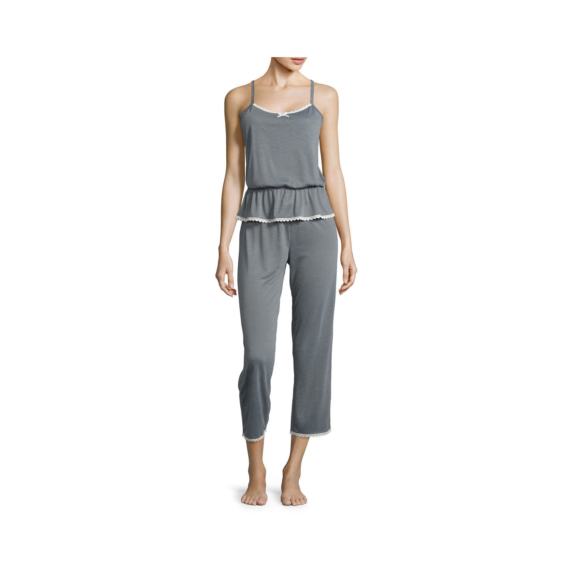 PJ Couture Cami and Capris Pajama Set plus size,  plus size fashion plus size appare