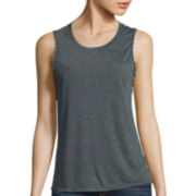 Arizona Sleeveless Braided Armhole Muscle Tee