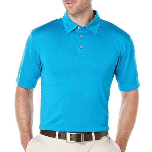 PGA TOUR® Short-Sleeve Performance Jacquard Polo