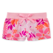 Okie Dokie® Floral-Print Shorts - Baby Girls newborn-24m