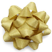 MarthaCelebrations™ Gift Topper – Gold